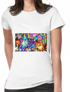 Masked Reality Womens Fitted T-Shirt
