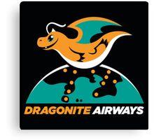 Dragon Airways Canvas Print
