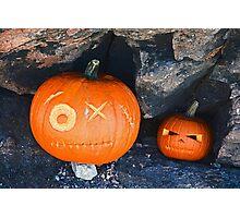 Cave Pumpkins  Photographic Print