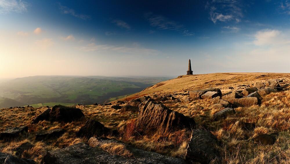 Stoodley Pike Panorama by Simon Bowen