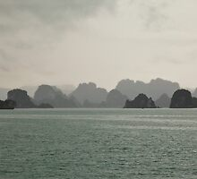 Rising limestone islands by Janette Anderson