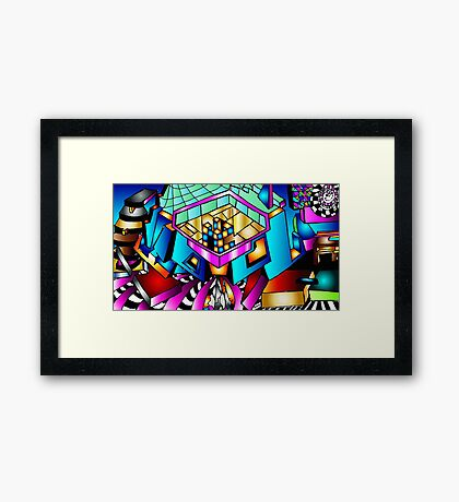 Puzzle With-In Framed Print