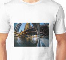 fisheye from Chicago river walk Unisex T-Shirt