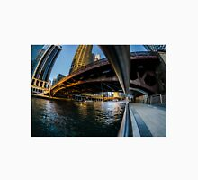 fisheye from Chicago river walk Unisex T-Shirt