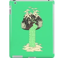 Levitating Island with a Source coming from nowhere iPad Case/Skin