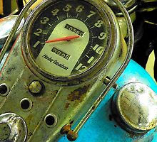 49 Pan Head Harley Davidson by Rita  H. Ireland