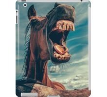 Funny Horse iPad Case/Skin