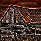 Old Barn by Andre Faubert