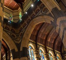 0971 Inside St Paul's Cathedral Melbourne by DavidsArt