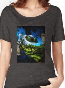 Blue ponds Women's Relaxed Fit T-Shirt