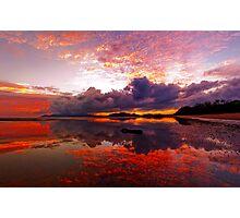 Bushland Beach Sunrise Photographic Print