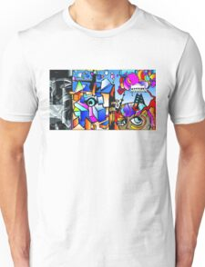 Ladder to Musical Emotions Unisex T-Shirt