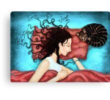 dream, love, sleep Canvas Print