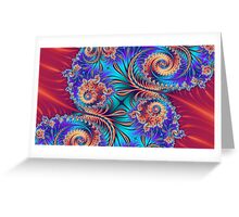 Scrolls and Whirls Greeting Card