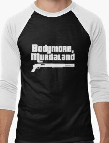Bodymore, Murdaland Men's Baseball ¾ T-Shirt