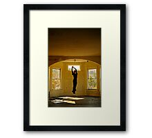 I Can Fly, If I Really Wanted Too... Framed Print