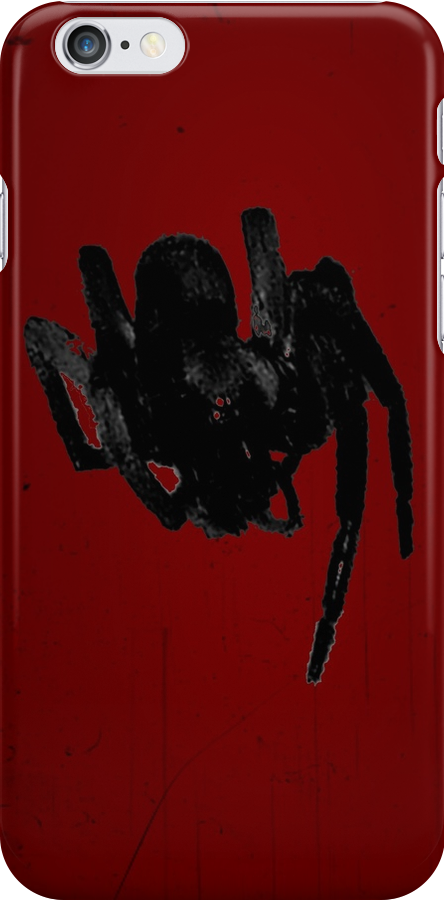 Spider iPhone by Margaret Bryant