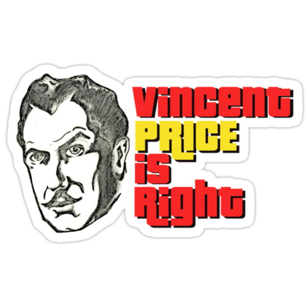 Vincent Price is Right by gaetax12