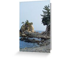 Korean East Coast Greeting Card