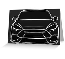 2016 Ford Focus RS Greeting Card