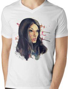 Indigo Mens V-Neck T-Shirt