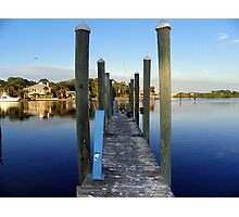 Gulf of Mexico DOCK Photographic Print