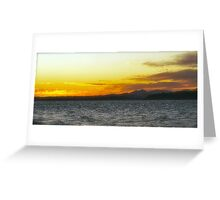Nothing Like A Alki Beach Sunset!! Greeting Card
