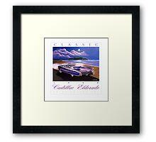 1960 Cadillac Eldorado Biarritz Convertible ver 2 Framed Print