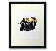 Pulp-Man-Ra Framed Print