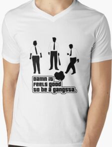 Damn It Feels Good To Be a Gangsta Mens V-Neck T-Shirt