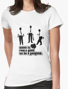 Damn It Feels Good To Be a Gangsta Womens Fitted T-Shirt