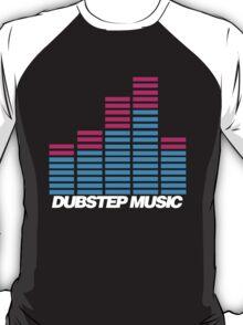 Equalizer Dubstep Music (dark) T-Shirt