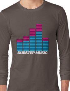 Equalizer Dubstep Music (dark) Long Sleeve T-Shirt