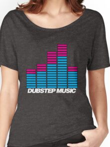 Equalizer Dubstep Music (dark) Women's Relaxed Fit T-Shirt