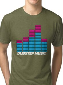 Equalizer Dubstep Music (dark) Tri-blend T-Shirt