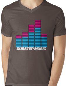 Equalizer Dubstep Music (dark) Mens V-Neck T-Shirt