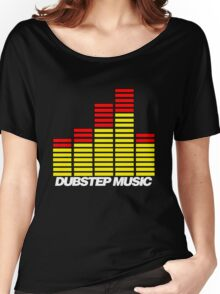 Equalizer Dubstep Music (red/yellow) Women's Relaxed Fit T-Shirt