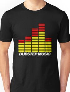 Equalizer Dubstep Music (red/yellow) Unisex T-Shirt