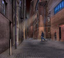 Laneway, The Night Shift - Darlinghurst, Sydney, Australia by Mark Richards