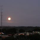Sunset over Leongatha by Joan Wild