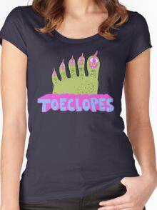 Toeclopes Women's Fitted Scoop T-Shirt