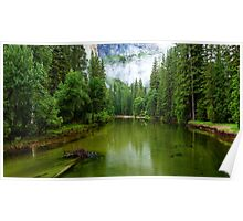 Merced River, Yosemite Yalley Poster