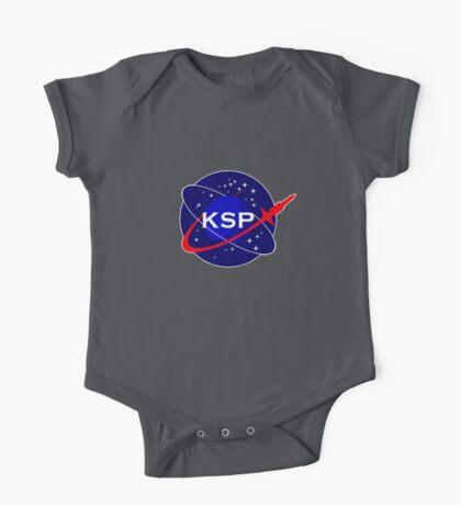 KSP Space Agency logo One Piece - Short Sleeve