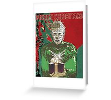 Merry Christmas Pinhead Greeting Card