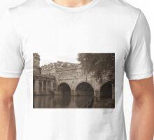 Pulteney Bridge- Sepia Unisex T-Shirt