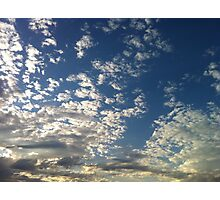 Majestic Clouds Photographic Print