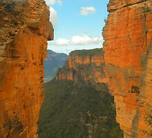 Hanging Rock vista .. the long view by Michael Matthews