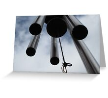 Wind chimes Greeting Card