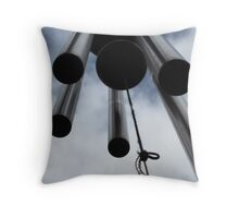 Wind chimes Throw Pillow