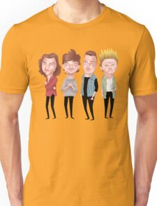Boy Band - Dne Oirection Unisex T-Shirt